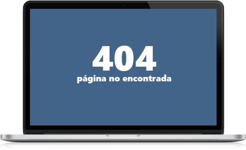 404 página no encontrada
