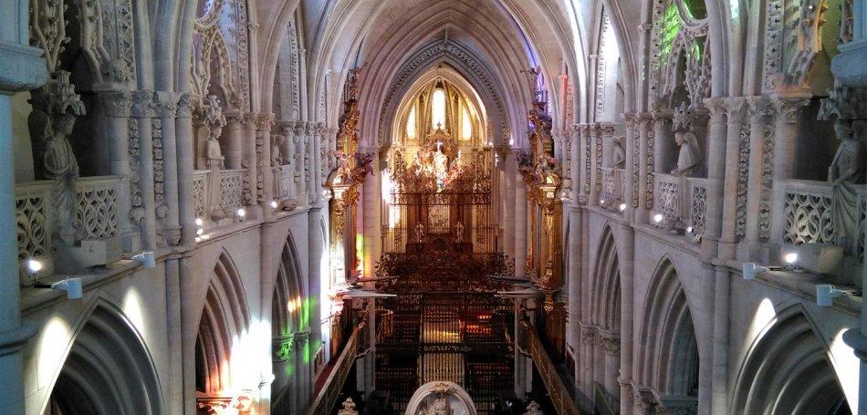 Cuenca desde las alturas: El Triforio de la Catedral de Cuenca