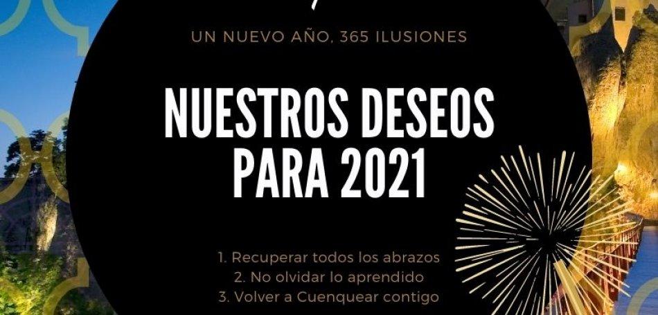 3 Deseos para el Año Nuevo 2021